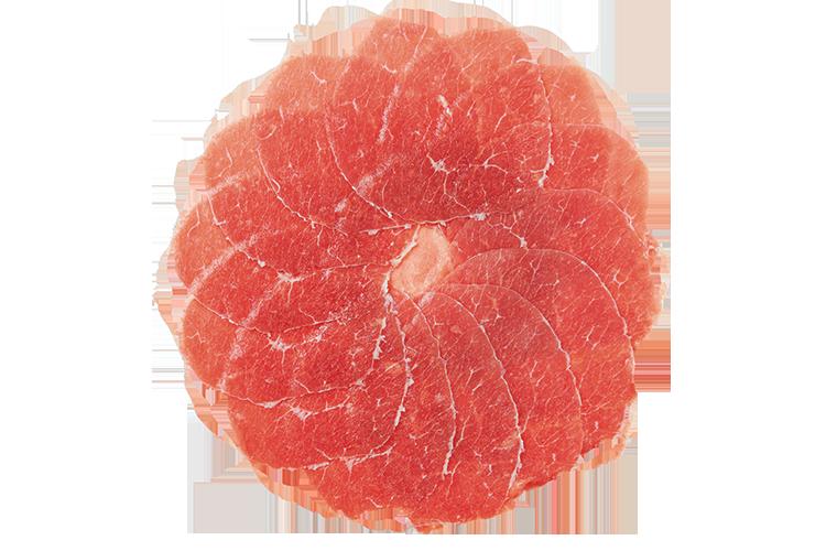 Natuurvlees carpaccio